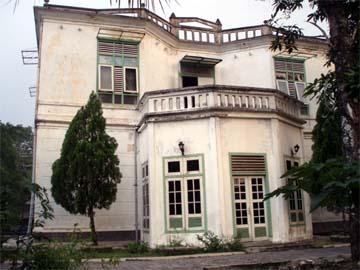 Gedung Papak tempat penyekapan ianfu